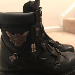 Used-Harley Davidson Motor Cycle Boots